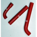 Manguitos radiador silicona Gas gas 02/10 Rojo