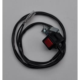 Interruptor de pare con cable de masa