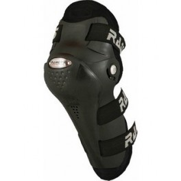 Knee guard reinforced plastic