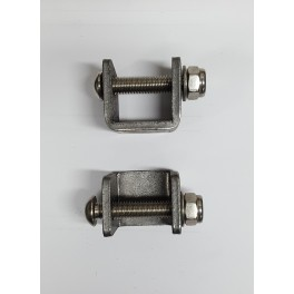 Footrests repositioning set for classic motorcycles