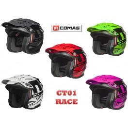Casco COMAS RACE CT01 con carcasa 'Open Face'