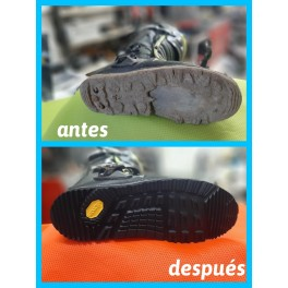 Reparación botas
